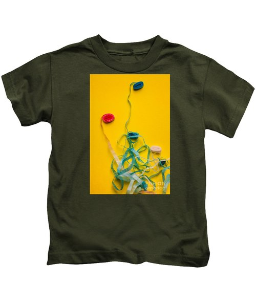 Knots And Birthday Tangles Kids T-Shirt