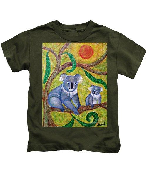 Koala Sunrise Kids T-Shirt