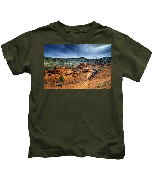 Kodachrome Basin Afternoon Kids T-Shirt