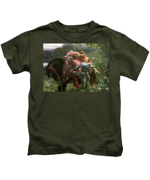 La Belle Dame Sans Merci Kids T-Shirt