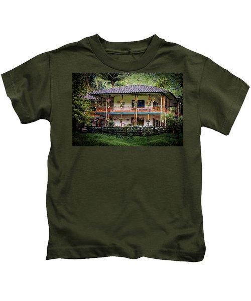 La Finca De Cafe - The Coffee Farm Kids T-Shirt