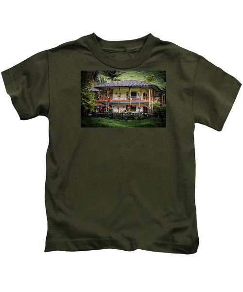 La Finca De Cafe - The Coffee Farm Kids T-Shirt