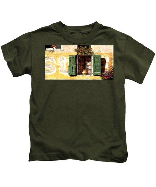 la finestra di Sue Kids T-Shirt