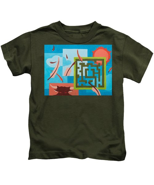 Labyrinth Day Kids T-Shirt