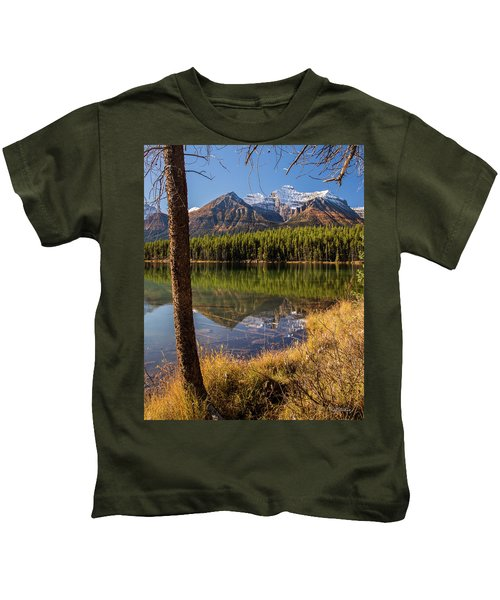 Lake Herbert Reflections Kids T-Shirt