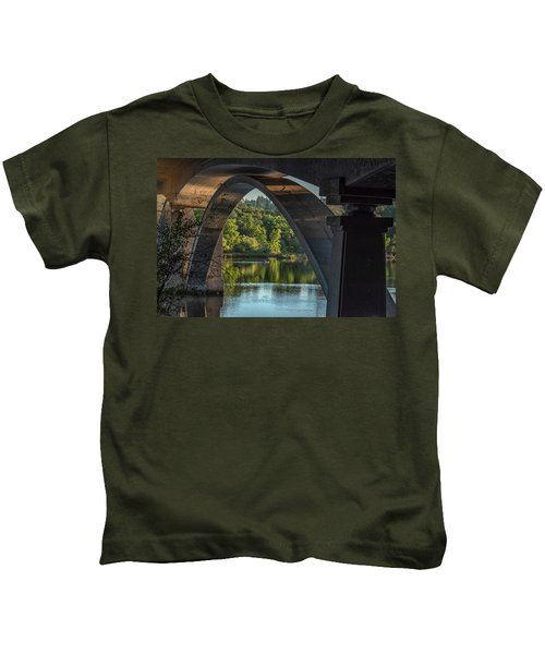 Lake Natoma Arch Kids T-Shirt