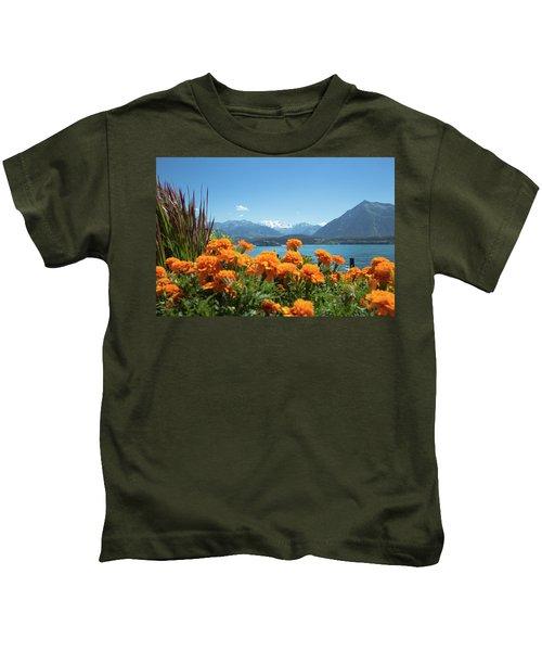 Lake Thunersee Kids T-Shirt