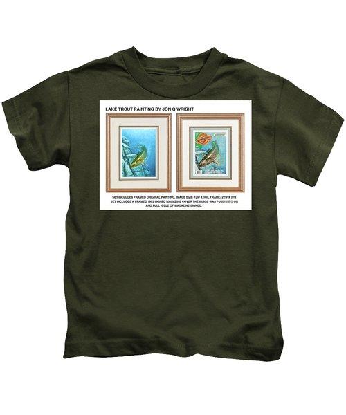 Lake Trout Original Kids T-Shirt