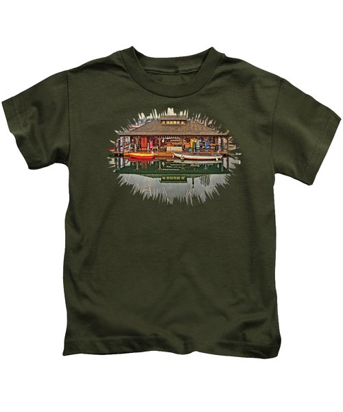 Center For Wooden Boats Kids T-Shirt