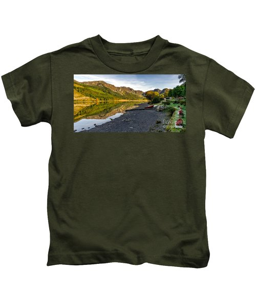 Lakeside Autumn Kids T-Shirt