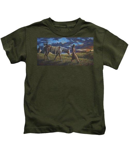 Lakota Sunrise Kids T-Shirt
