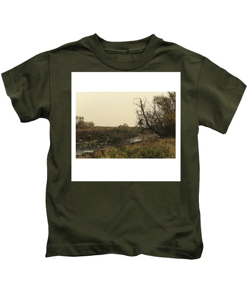 #landscape #stausee #mothernature #tree Kids T-Shirt