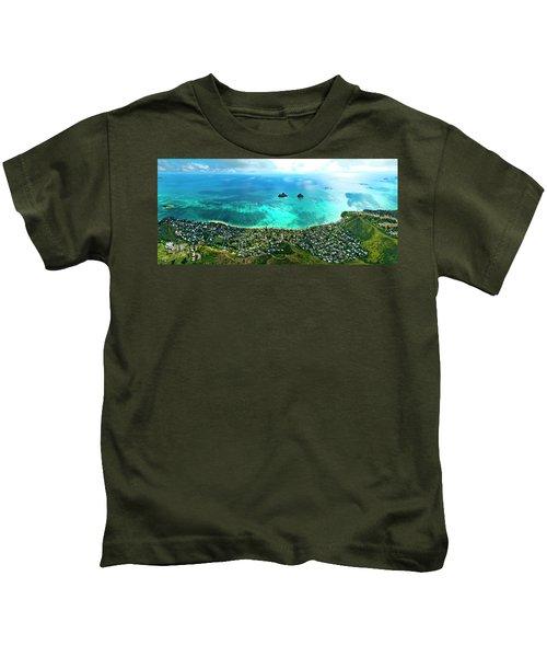 Lanikai Over View Kids T-Shirt