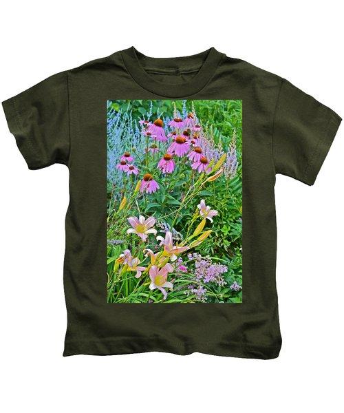 Late July Garden 3 Kids T-Shirt