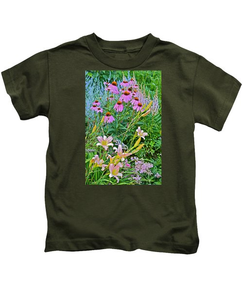 Late July Garden 3 Kids T-Shirt
