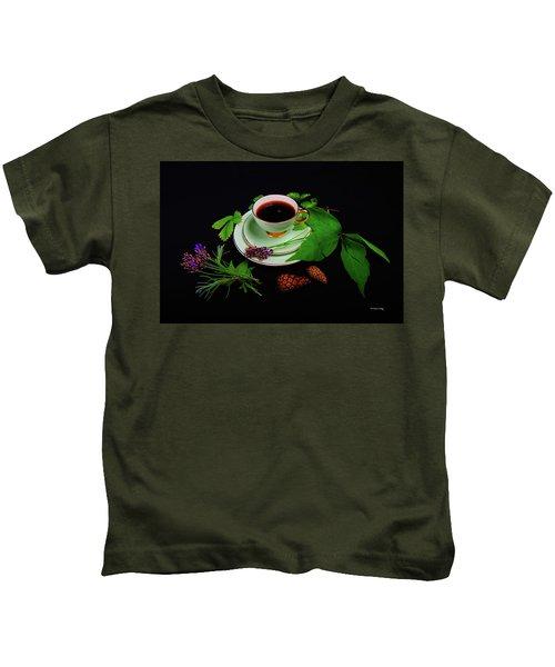 Late Summer Coffee Kids T-Shirt