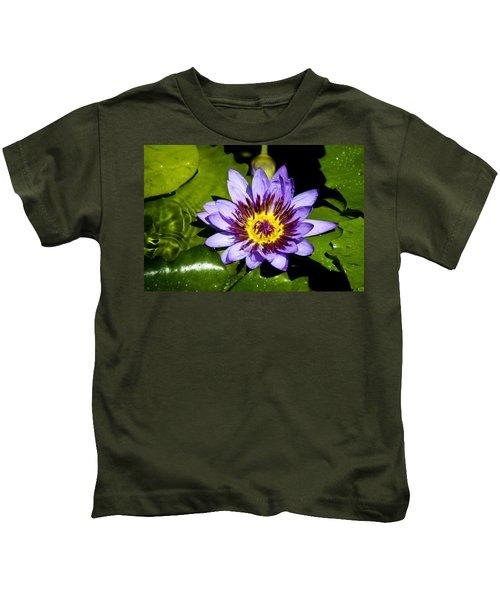 Lavender Fireworks Kids T-Shirt