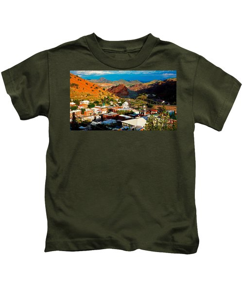 Lavender Pit In Historic Bisbee Arizona  Kids T-Shirt
