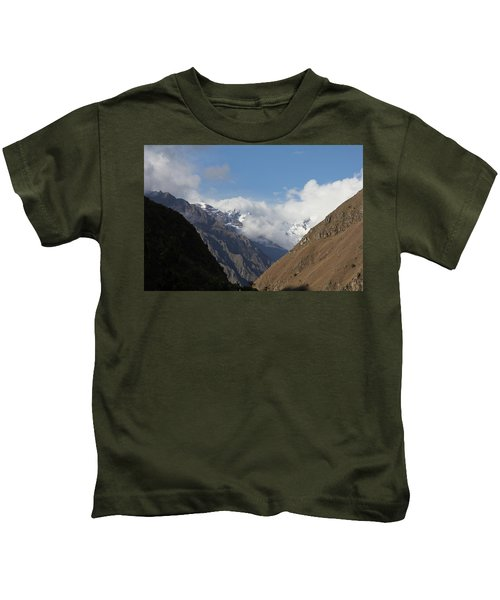Layers Of Mountains Kids T-Shirt