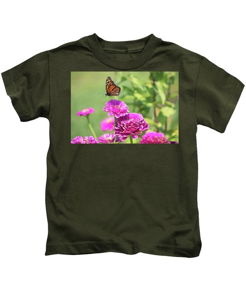 Leaping Butterfly Kids T-Shirt