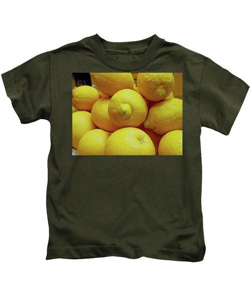 Lemon Squeeze Kids T-Shirt