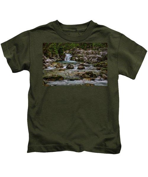 Lepenjica River - Slovenia Kids T-Shirt