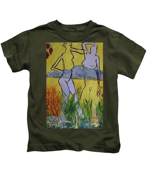 Les Nymphs D'aureille Kids T-Shirt