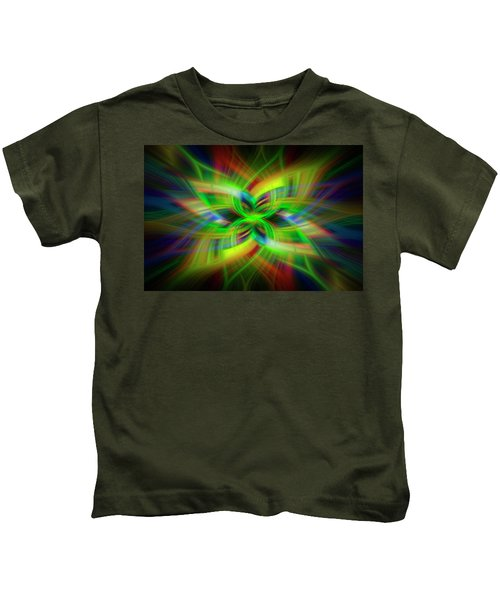 Light Abstract 1 Kids T-Shirt