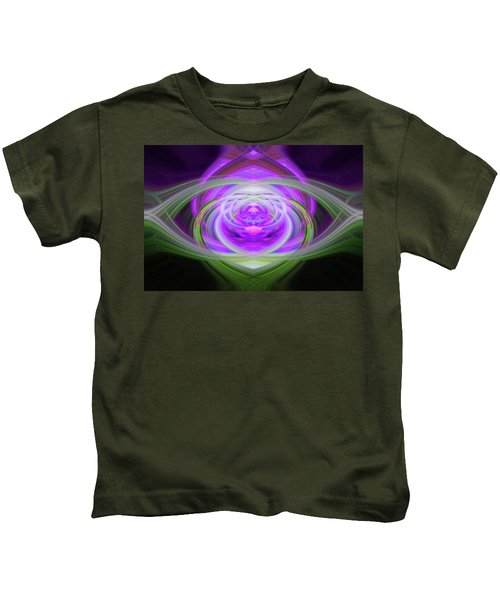 Light Abstract 3 Kids T-Shirt