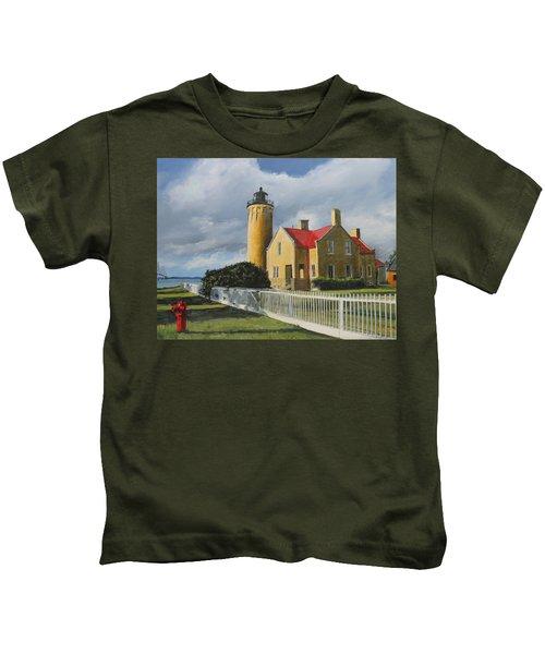 Light From Across Kids T-Shirt