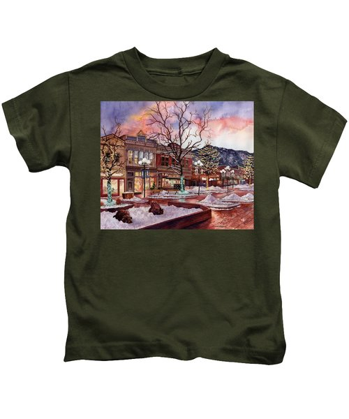 Light Up Heaven And Earth Kids T-Shirt