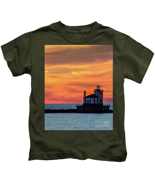 Lighthouse Silhouette Kids T-Shirt