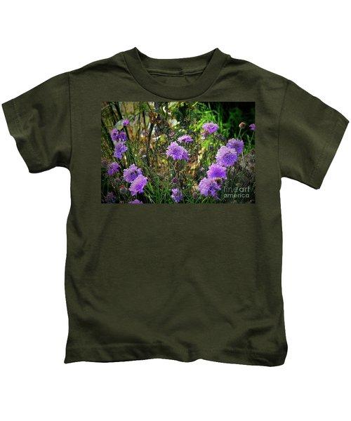 Lilac Carved Jellytot Kids T-Shirt