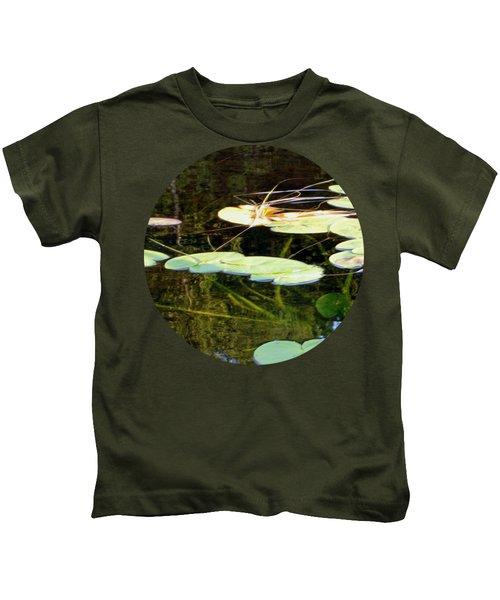 Lily Pads On The Lake Kids T-Shirt