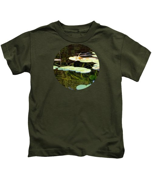 Lily Pads On The Lake Kids T-Shirt