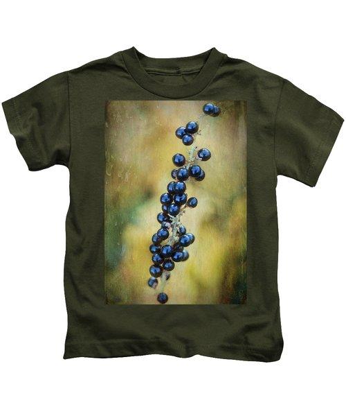 Liriope Stalk Kids T-Shirt