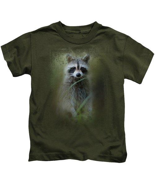 Little Bandit Kids T-Shirt by Jai Johnson