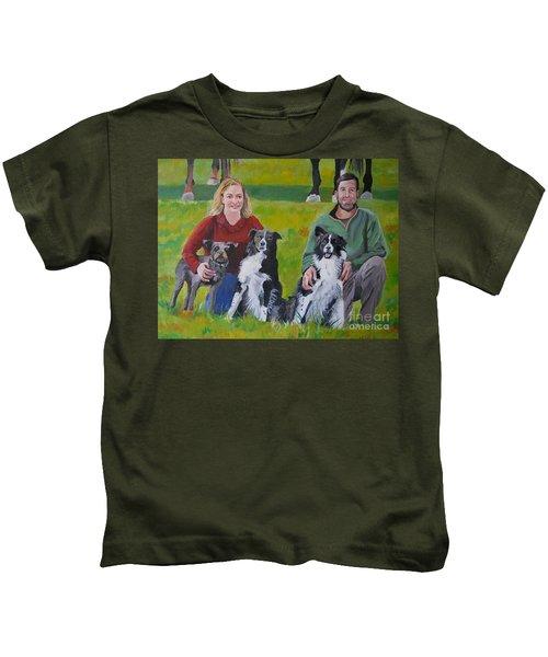Little Bit's New Family Kids T-Shirt