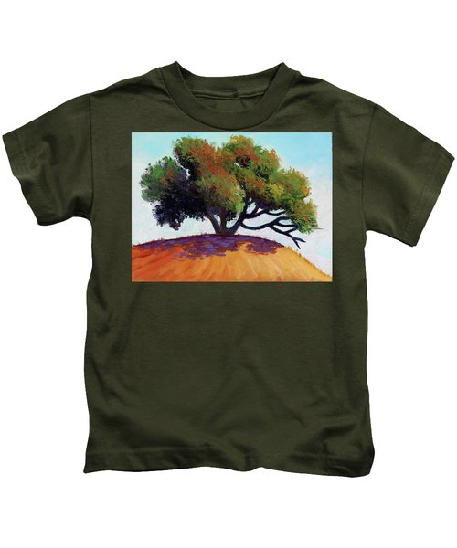 Live Oak Tree Kids T-Shirt