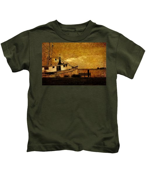 Living In The Past Kids T-Shirt