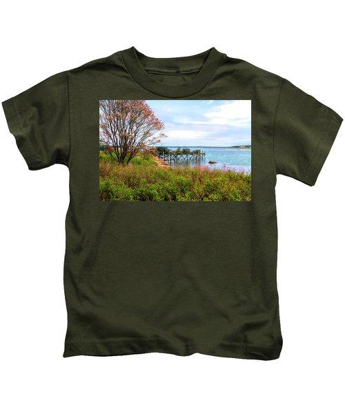 Lobster Traps Kids T-Shirt