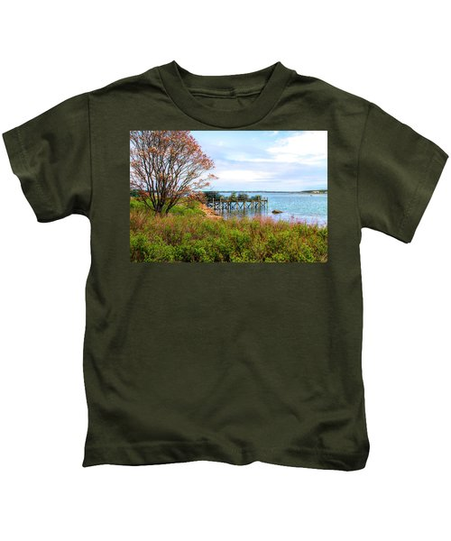 Lobster Traps Kids T-Shirt