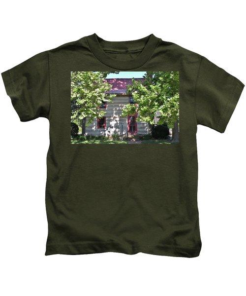 Log Cabin 5 - Lewes Delaware  Kids T-Shirt