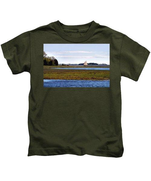Lone Sail Kids T-Shirt