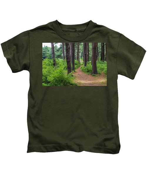 Look Park Nature Path Kids T-Shirt