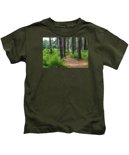 Look Park Nature Path Kids T-Shirt