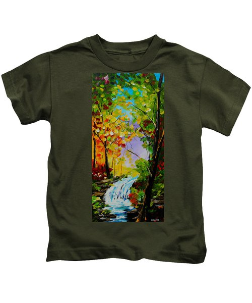 Looking Through Kids T-Shirt