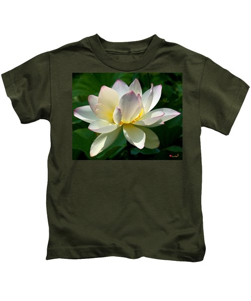 Lotus Beauty--disheveled Dl061 Kids T-Shirt