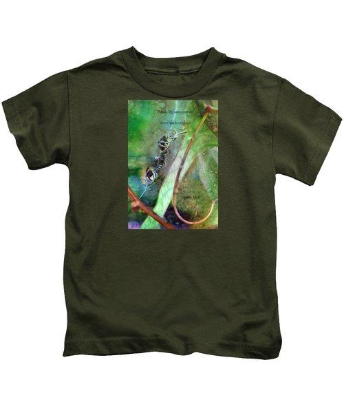 Love Each Other Kids T-Shirt