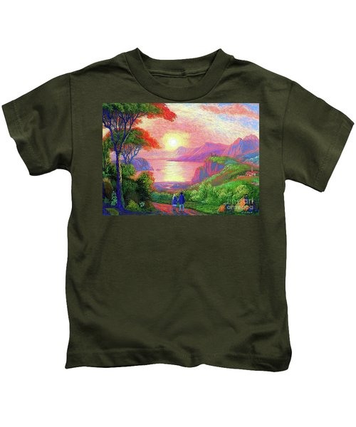 Love Is Sharing The Journey Kids T-Shirt